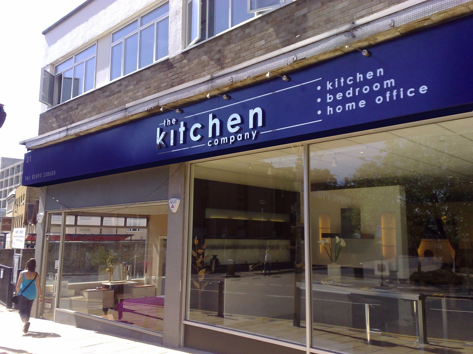 Lower road signs the kitchen company for Kitchen and company
